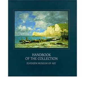 Painting of boats on the cover of a catalog