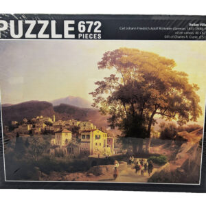 Puzzle of painting of Italian villa
