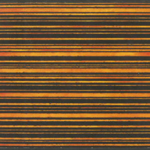 Book cover, red, yellow, and black horizontal lines
